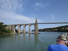 3891 Pont Grog y Borth (Andy panomaniacanonymous) Tags: 20160907 bbb bridge cruise menaistraits menaisuspensionbridge mmm mvbalmoral pontgrogyborth roundtrip ynysmon