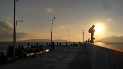 """ angler fish :) para pemancing ikan  #sunrise #fishing #fisherman #balistrait #banyuwangi (wahyuy) Tags: balistrait banyuwangi fisherman fishing sunrise"