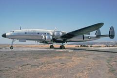 N73544-2-KCMA-22OCT1995 (Alpha Mike Aviation Photography) Tags: lockheed c121 c121c constellation n73544 camarillo cma kcma