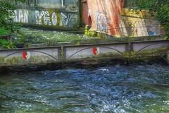 Augsburger Kanäle (AD2115) Tags: fünffingerlesturm kahnfahrt schwedenstiege hessing hessingburg wasserturm wasser stadt city fugger