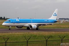 KLM --- Embraer ERJ-190 --- PH-EXA (Drinu C) Tags: adrianciliaphotography sony dsc hx100v ams eham plane aircraft aviation klm embraer erj190 phexa