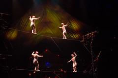 _MG_0660.jpg (Tibor Kovacs) Tags: colours smoke stars acrobats sydney lights cirquedusoleil circus performances bigtop kooza performers clowns strength australia stage contortionists