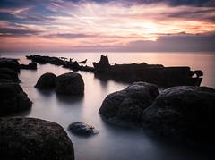 Sheraton (cottagearts123) Tags: wreck rock beach sheraton sunset norfolk hunstanton