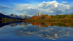 Morning at Oxbow Bend, Grand Teton National Park, Wyoming. (Lim Ph Nhm) Tags: oxbowbend grandtetonnationalpark morning liemphonhom