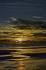 Reflejos del Sur (pp diaz) Tags: espaa color luz atardecer mar andaluca paisaje arena cielo cdiz ocaso reflejos rota costaballena playadelinfante