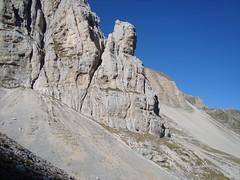 """Arrampicata Monti Sibillini via """"Florio-Calibani al Colletto"""" Gran Gendarme - 3 ottobre 2012"""