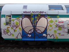 vi amo (en-ri) Tags: train writing torino graffiti crew smorfia denti phool 2013 pevs vrk