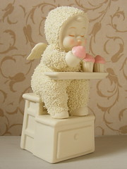 Snow Babies Zero Calorie Cupcakes (**Cupcake Boutique**) Tags: baby cute angel ceramic cupcakes snowbabies zerocaloriescupcakes