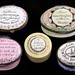3018. Group of Five Porcelain Patch Boxes