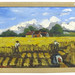 "253. Original Painting ""Gathering Hay"""