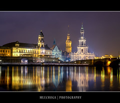 Dresden by Night (MLechuga Photography) Tags: world life street new old city travel bridge blue trees light boy sunset red portrait sky people blackandwhite italy music orange usa sun mountain lake snow man black mountains flower macro tree green london castle art fall cars church nature colors girl rock architecture night clouds digital forest canon reflections germany landscape photography eos dresden is photo europe action bokeh sigma wideangle chrome 7d summertime usm dslr canoneos hdr kaiserslautern intheair catherdal rememberthatmomentlevel1 rememberthatmomentlevel2