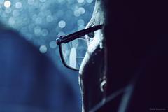 (Olalla Esquimal) Tags: blue light glasses bokeh grandpa granfather agostoesquiimal