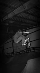 skateboard (ChasingVisionsPhotography) Tags: blackwhite ollie skateboard boneless