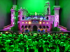 Lego Lady Gaga Born This Way Ball by Paul Hetherington (Brickbaron) Tags: show castle ball concert lego live cd rockshow bestinshow littlemonsters artpop 2013 bornthisway ladygaga paulhetherington builtthisway brickbaron legogaga brickscascade