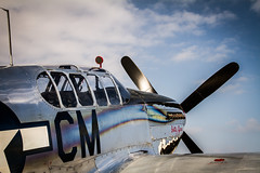 Collings Foundation TF-51 Razorback (UnleashedPhotography) Tags: blue sky art metal reflections star mirror aluminum europe fighter florida aviation polish cm greenhouse tandem canopy pursuit pensacola panhandle exhaust razorback roundel v12 p51 wwll pns collingsfoundation bettyjane northwestflorida tf51 kpns
