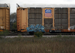 (BCalico) Tags: graffiti sp unionpacific graff freight cieh 516294