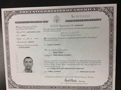 Certificate of Naturalization (garynet) Tags: certificate mohi naturalization