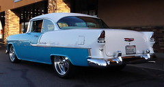 1955 Chevy Bel Air Hardtop3 (1965 2+2) Tags: cruise chevrolet hardtop belair 1955 adams socal chevy donuts hotrod huntingtonbeach customs derelicts california cruisein mangolia chevybelair southern in chevy1955 belair55 chevrolet55 socal donutsderelicts donutscruise hardtop1955 hardtop55 belairhardtop1955
