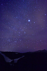 Milky Way over Vail, CO (Colin P Murphy) Tags: trees way stars 50mm star interesting nikon colorado trails vail co f18 aspen milky d3100