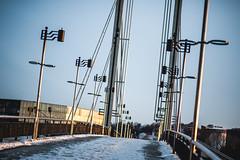 Bridge (A. Aleksandraviius) Tags: sunset sun cold evening spring f14 85mm mc if 85 ae lithuania kaunas umc d700 nikond700 samyang85mmf14 samyang85 samyangae85mmf14ifmc
