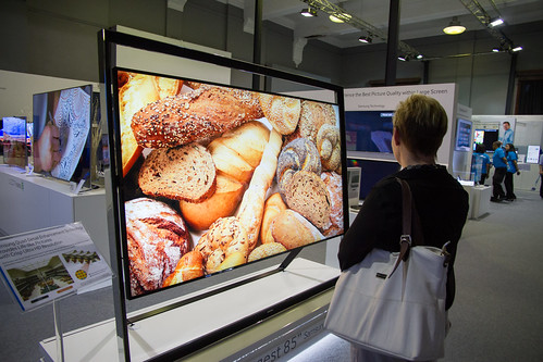 Samsung's 85 inches of UHD
