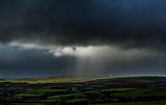 Nature Has A Flair For The Dramatic (intrazome) Tags: cloud storm nature beautiful weather night clouds landscape countryside nikon cornwall cloudscape d5100