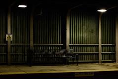 (EYECCD) Tags: brooklyn night dark lowlight avenue lirr watchthegap flickrstock nostrand 550d