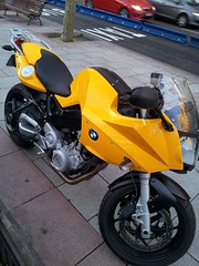 Asiento de moto BMW F800 tapizado amarillo (Tapizados y gel para asientos de moto) Tags: moto bmw asiento f800 tapizado