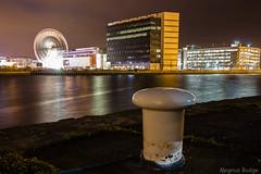 Funfair - Leith (MBDGE) Tags: longexposure water night port lights edinburgh leith moorings