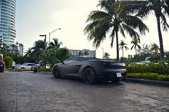 Matte Gallardo (ConnorMcKeanPhotos) Tags: blue black cars fountain car miami lamborghini matte gallardo flroida