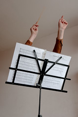 Conducting (glukorizon) Tags: music paper muziek luc sheetmusic papier zelfportret layering selfie odc conducting musicstand lagen bladmuziek ocaptainmycaptain dirigeren muziekstandaard odc2 ourdailychallenge beginswithc