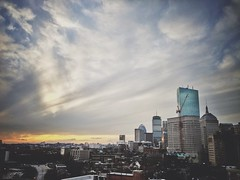 The view from a parking garage in Boston (AnthonyTulliani) Tags: uploaded:by=flickrmobile flickriosapp:filter=nofilter