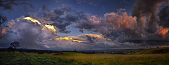 My Heart Skips A Beat (southern_skies2) Tags: sunset sky storm colour clouds sundown country australia queensland crowsnest township paddock