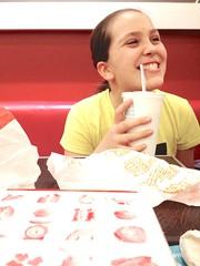 A Happy Meal, Stockholm (www.adamandersson.se) Tags: love smile happy sweden stockholm sister burger mcdonalds meal iphone vsco vscofilm vscocam uploaded:by=flickrmobile flickriosapp:filter=nofilter