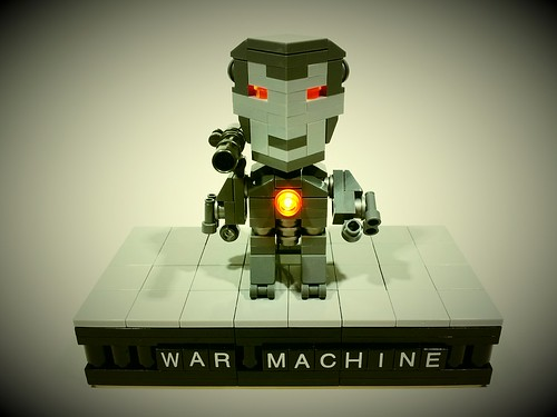 War Machine Cube Dude