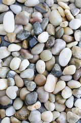 Pebbles (Marissen) Tags: black nature stone closeup 50mm nikon stones indoor pebbles sten polished