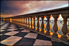 repetita iuvant (zio paperino) Tags: sunset sea mar nikon italia mare tuscany toscana livorno mascagni d90 geometries nespyxel photographyforrecreation infinitexposure