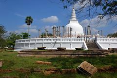 Stone-alone, Anuradhapura, Sri Lanka (sadat81) Tags: city ancient asia cities tropical tropic srilanka ceylon lankan southasia anuradhapura sinhalese anuradapura singalese