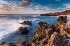Coastal Afternoon (Daniel Beresford) Tags: sunset sea sky coast rocks afternoon tide indianocean australia coastal perth westernaustralia canoneos5dmarkii lee09nd lee09gndhard canontse24mmf35lii