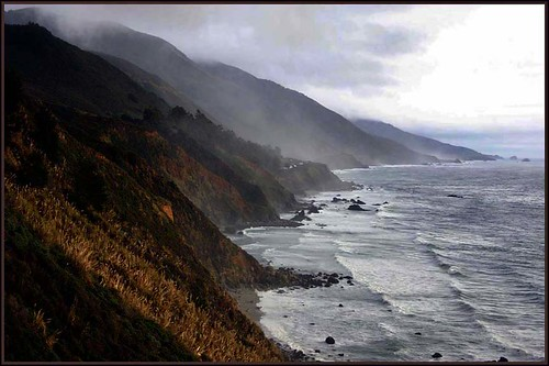 California Coast and Pacific Ocean