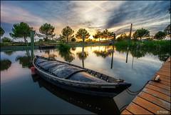 barcas (AJD3000) Tags: sunset atardecer catarroja d700 1424mm