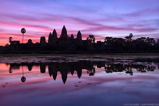 Angkor Twilight - Siem Reap, Cambodia