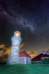 Purple rain (Darius Darkly) Tags: nightphotography light lighthouse lightpainting night painting way stars purple sydney torch nikkor milky palmbeach barrenjoey milkyway northernbeaches d600 afsnikkor2470mmf28ged