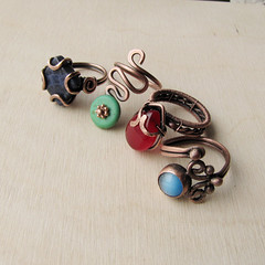 Copper rings (ggagatka) Tags: handmade ring jewellery