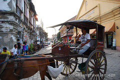 calesa in Vigan Philippines (BohemianTraveler) Tags: old city horse heritage architecture island town site asia pacific district philippines colonial chinese unesco mexican spanish filipino sur vigan ilocos kalesa luzon calesa mestizo