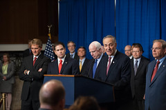 "SENATORS TO OUTLINE BIPARTISAN IMMIGRATION REFORM PROPOSAL • <a style=""font-size:0.8em;"" href=""http://www.flickr.com/photos/32619231@N02/8661709712/"" target=""_blank"">View on Flickr</a>"