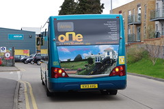 Arriva Southend's newest Optare Versa 4260, KX13 AVG on its first run out (EastBeach68) Tags: one kent thameside optare 4260 optareversa arrivasoutherncounties arrivakentthameside arrivasouthend 2013optareversa newoptareversa arrivasouthendbus newsouthendoptares southendversaslaunch kx13avg newarrivabuses optareversav1170 newsouthendversas route1versas arriva2013optareversas newsouthendversa newsouthendoptareversa southendversalaunch optareversav1170v1170arriva