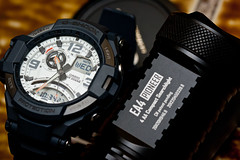Casio GA-1000 (mekelbagus) Tags: analog digital watch twin jewellery casio thermometer wristwatch aviator compass sensor gshock anadigi