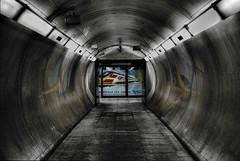 Fly Virgin (violinconcertono3) Tags: city uk london underground grunge tube virgin bermondsey jubileeline fineartphotography undergroundstation londonist photographyprints londonphotographer 19sixty3 davidhendersonphotography