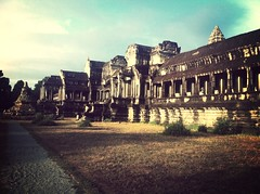 Angkor Wat from east